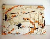 Clutch Handmade with Joel Dewberry Sparrows Fabric