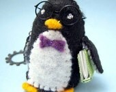 Nerd Bird - Small Felt Plush