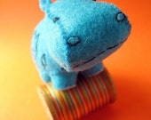 Tawa the Hippo - Small Felt Plush