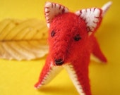 Marple the Fox - Small Felt Plush