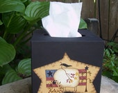 Primitive Americana Sheep Tissue Box