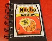 Mello Smellos Nacho Taco Chips Sticker mini notebook