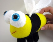Bev the Bumblebee Bee Plush Stuffed Animal Toy