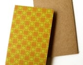 Ruled Notebook with Wallpaper (Chequered)