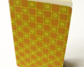 Blank Notebook with Wallpaper (Chequered)