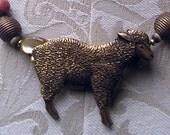 beep beep I like sheep necklace