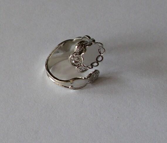 Adjustable Silver Spoon Ring Blank (3)