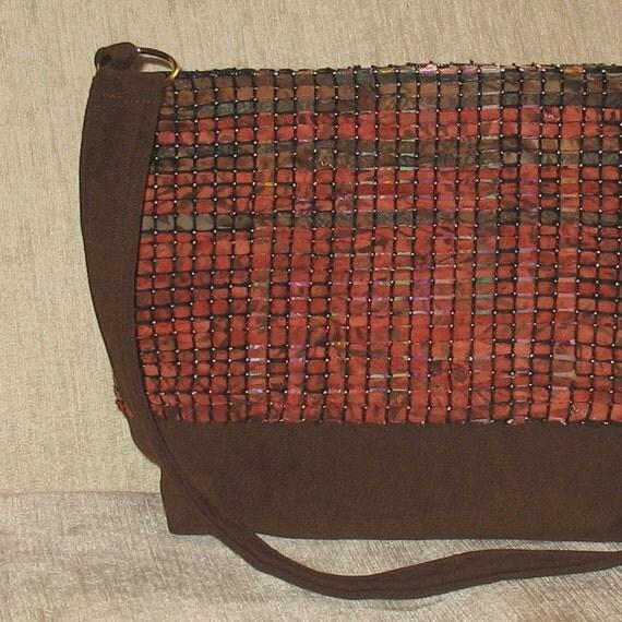 Mesa handwoven bamboo handbag
