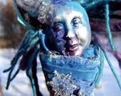 Art Doll. Spirit Doll. Feng Shui. Talisman-'Keeper of The Stars'