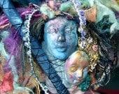 Three Graces-Faery-Art Doll-Mixed Media Assemblage