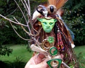The Journeyman: Mixed Media Assemblage Spirit Art Doll