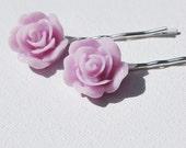 RESERVED for thelittlereddoor - Flower Hairpins