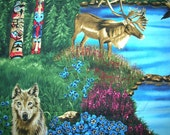 The Last Frontier fabric by Robert Kaufman Alaska 6733 - 1 yard