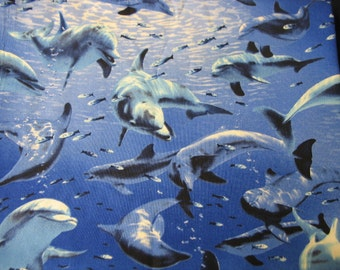 Dolphin Print Pot Holders