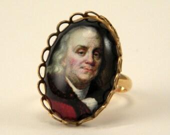 Little Ben Franklin Petite Ring