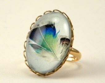 Birds of a Feather Petite Ring From the Aviary