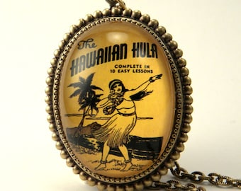 Hula Lessons Deluxe Necklace The Hawaiian Dance of Love
