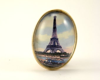 Eiffel Tower Brooch, The Sights of Paris, the City Of Love
