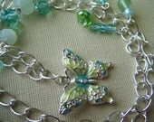 Ocean Days Butterfly necklace