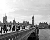 Crossing the Thames - 8x10 print