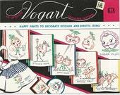 Vogart Transfer pattern 678  Happy Fruits