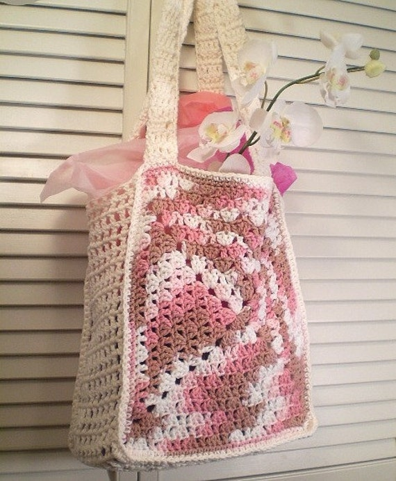 Not your Granny's Tote - market tote \/ beach bag