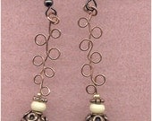 Copper Piecered Earrings