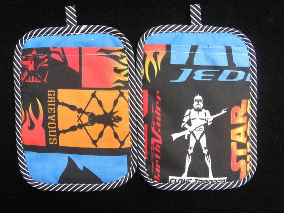 Thick Heat Resistant Star Wars Clone Trooper Potholder set