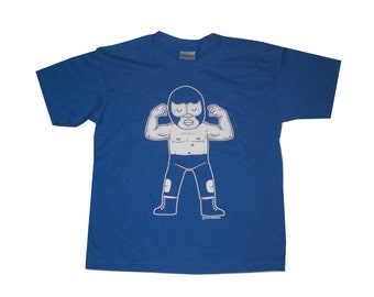 Blue Demon Youth T-Shirt XS, Small, Medium, Large in ROYAL BLUE