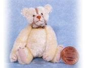 Muzzle Bear - Miniature Teddy Bear Kit - Pattern - by Emily Farmer