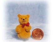 HALF PRICE - Roly Poly Bear - Miniature Teddy Bear Kit - Pattern - by Emily Farmer