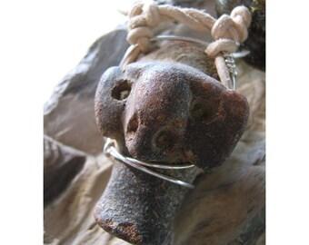 Mayan Pottery Shard - Personal Pendant