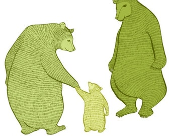 Magic Moss Bears - LARGE