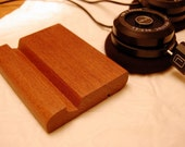 iPhone Stand Sleek Mahogany