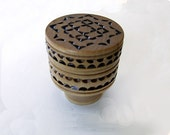 Hand Carved Wooden Music Box