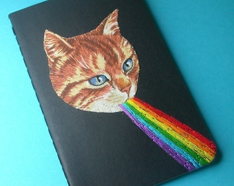 kitten awesome pocket journal