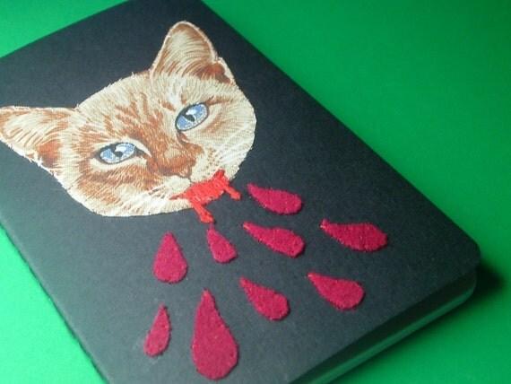 vampire kitten pocket journal