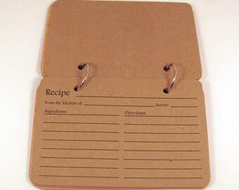 Extra Recipe Cards - 25 Cards
