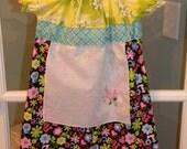 Apron Peasant Dress Size 4