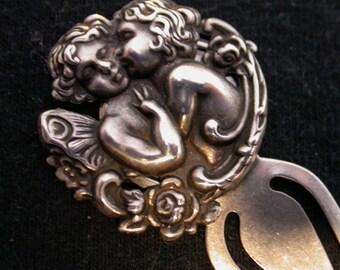 Cherub Bookmark, Handcrafted, Valentine Gift