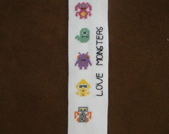 Love Monsters Bookmarks