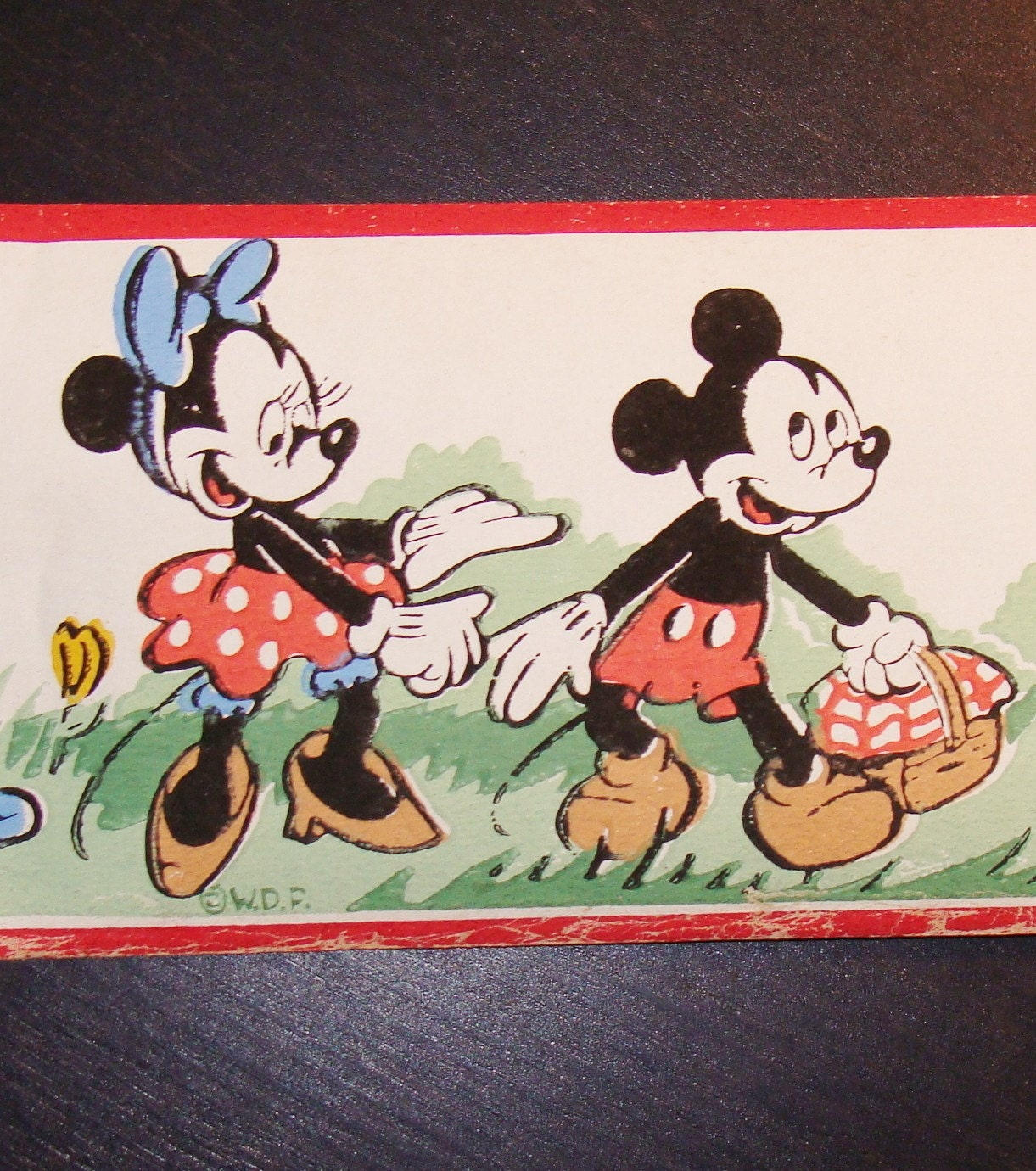 Etsy your place to buy and sell all things handmade - Mickey mouse retro wallpaper ...