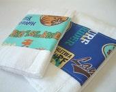 SURF'S UP Boutique Burp Cloth Bundle