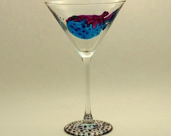 Fish Martini Glass