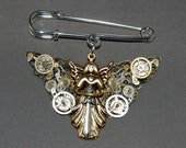 Clockwork Angel Pin inspired by author Cassandra Clare