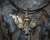 Clockwork Angel Pendant inspired by Author Cassandra Clare