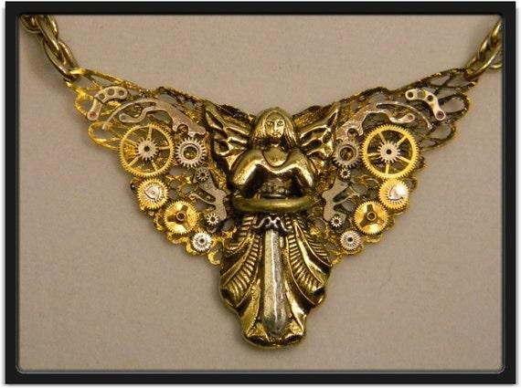 Clockwork Angel Pendant