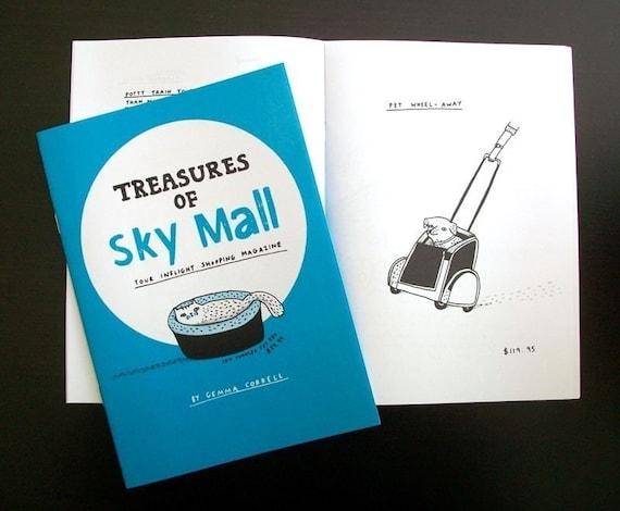 SALE - Treasures of SKY MALL zine