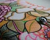 Macbook sleeve in 70's vintage psychedelic floral print - fits 11 inch Macbook Air