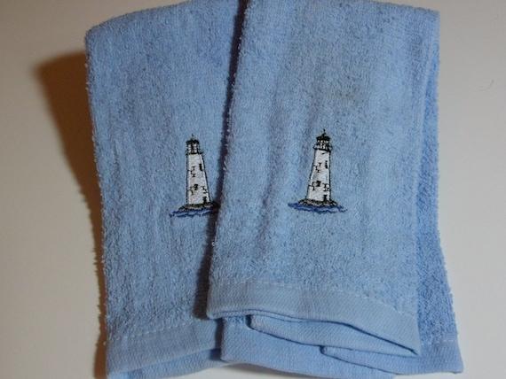 Blue Kitchen/Bath Towels